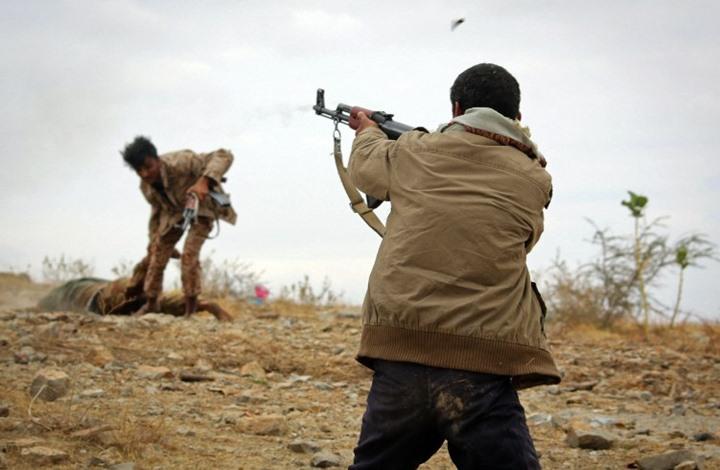 """مقتل مسؤول تسليح الحوثيين في جبهة معسكر """"خالد"""" الاستراتيجي"""
