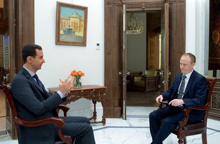 الأسد بحوار جديد يتحدث عن خان شيخون والقبض على البغدادي