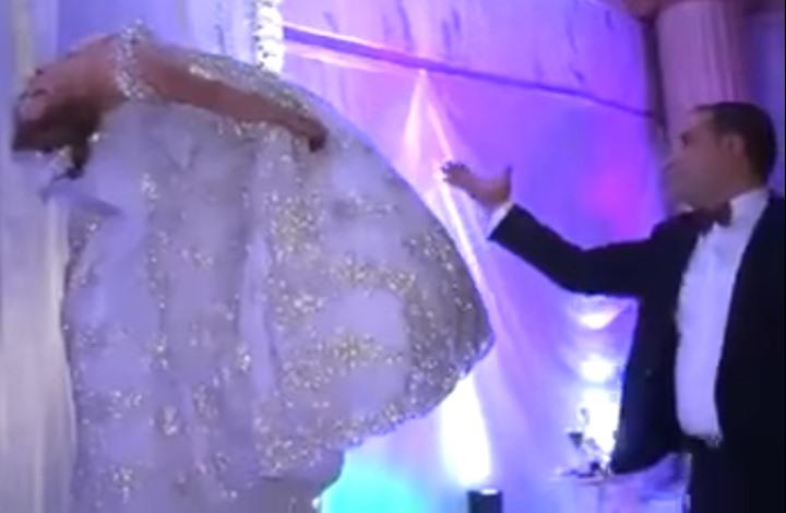 """عروس تونسية تطير بحفل زفافها.. زوجها """"ساحر"""" (شاهد)"""