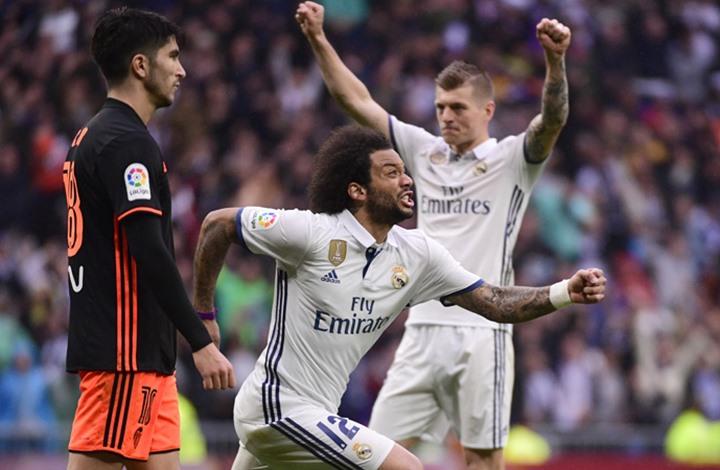مارسيلو ينقذ ريال مدريد من فخ التعادل بهدف ثمين (فيديو)