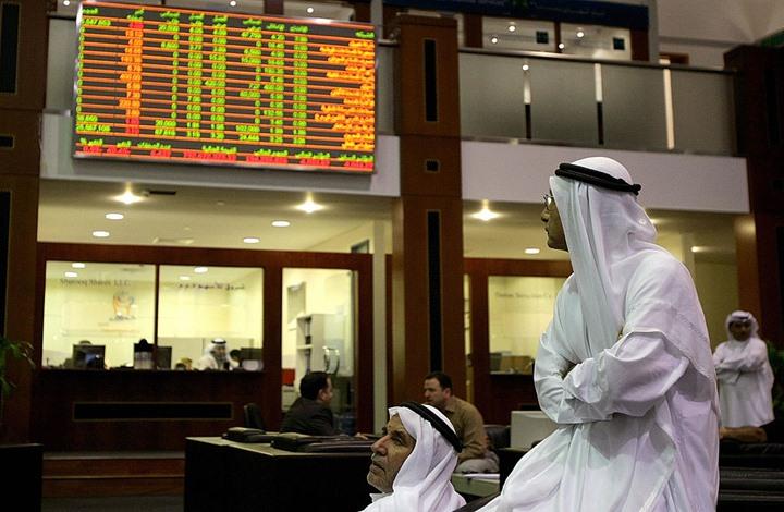 هبوط خمس بورصات خليجية رغم ارتفاع أسعار النفط