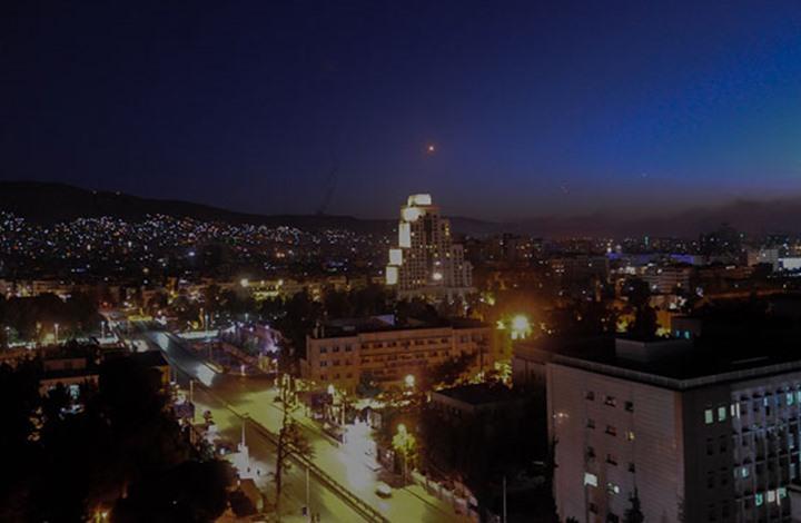 غارات للاحتلال جنوب سوريا وأصوات انفجارات بدمشق