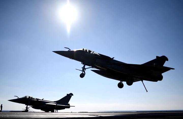 التحالف الدولي يستهدف تنظيم الدولة داخل سوريا