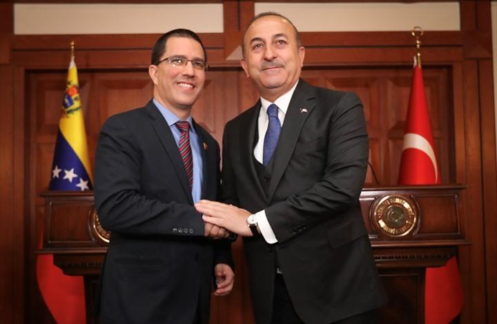 """تركيا تجدد دعم مادورو وكراكاس تشيد بـ""""صداقة أردوغان"""""""