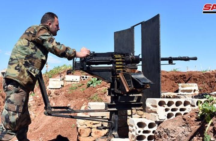 """تصعيد بين """"تحرير الشام"""" والنظام والأخير يستهدف ريف إدلب"""