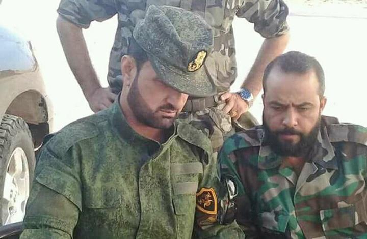 """ضابط روسي لسهيل الحسن: قدّم """"الباب"""" هدية للأسد (شاهد)"""