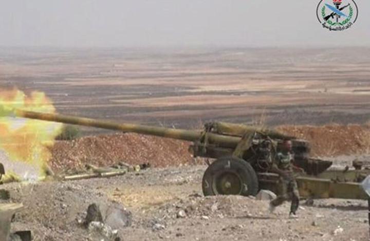 22 قتيلا من قوات الأسد بهجوم مزدوج لفصائل معارضة بحلب