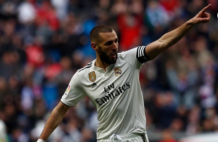كريم بنزيمة يقود ريال مدريد لتحقيق الفوز في الليغا