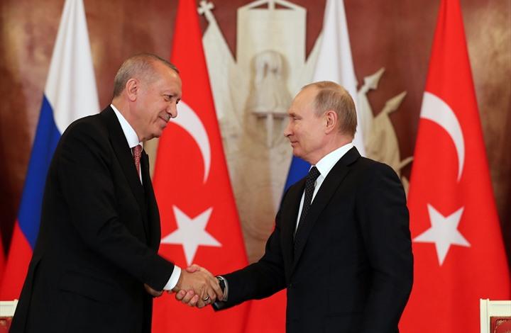 أردوغان يتجه لموسكو للقاء بوتين بعد تصعيد النظام بسوريا