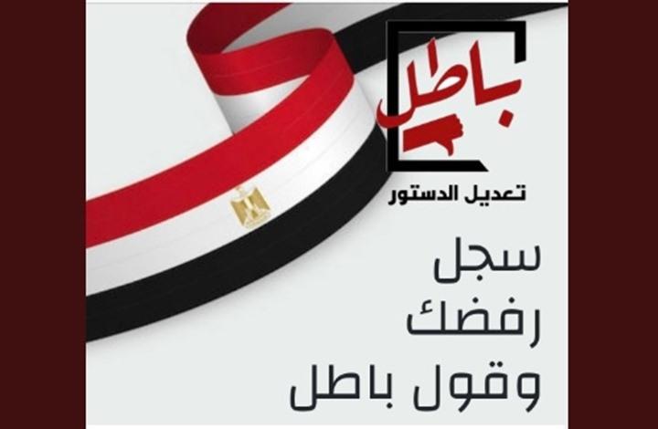 """""""باطل"""" تدعم المقاطعين لاستفتاء مصر وتشجع المشاركين بـ""""لا"""""""