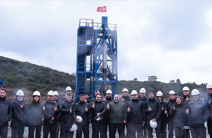نجاح اختبار تركي لمحرك صاروخ يستخدم بإطلاق مركبة إلى القمر