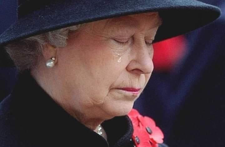 """ما حقيقة صورة """"دموع الملكة إليزابيث"""" المتداولة؟"""