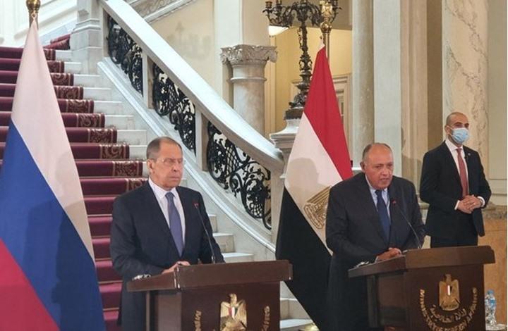 شكري: نعول على قدرة روسيا لوقف إجراءات إثيوبيا بسد النهضة