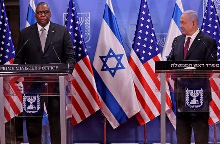 """واشنطن تؤكد التزامها بـ""""أمن"""" الاحتلال وتفوقه العسكري"""