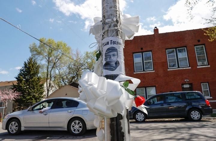مشاهد قتل شرطي لطفل من أصل لاتيني تثير الصدمة في أمريكا
