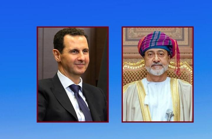 سلطان عُمان يبعث برقية تهنئة لرئيس النظام السوري