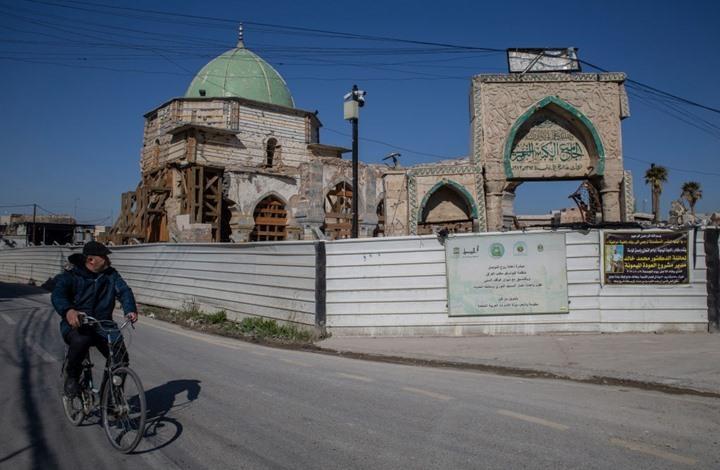 عراقيون يرفضون التصميم الجديد لجامع النوري التاريخي بالموصل