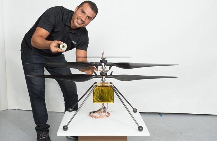 """قصة مهندس فلسطيني في """"ناسا"""" يستعد لدخول التاريخ مجددا"""