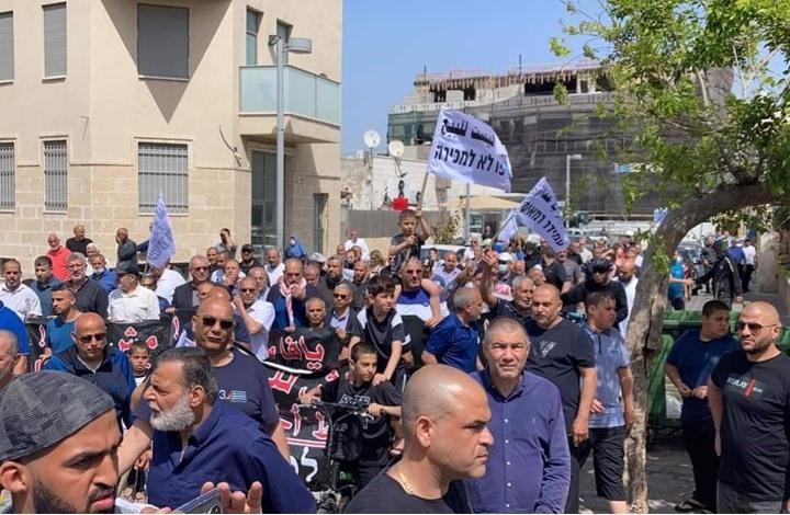 """مظاهرات في يافا و""""الشيخ جراح"""" ضد سياسة الاحتلال التهجيرية"""