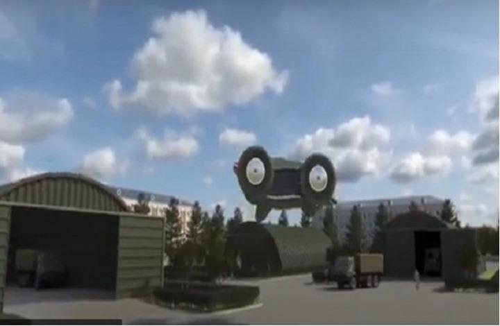 """""""السيكلوكار"""" سيارة روسية طائرة ستحلق مطلع 2022"""
