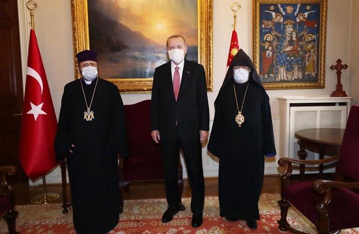 أردوغان يعزي أرمن تركيا بأحداث 1915