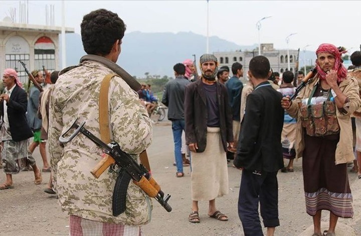 اتهامات للحوثيين بتخزين الأسلحة في مناطق مدنية