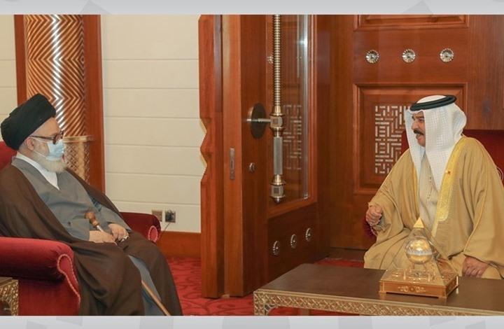 ماذا وراء لقاء ملك البحرين بالمرجع الشيعي الغريفي؟