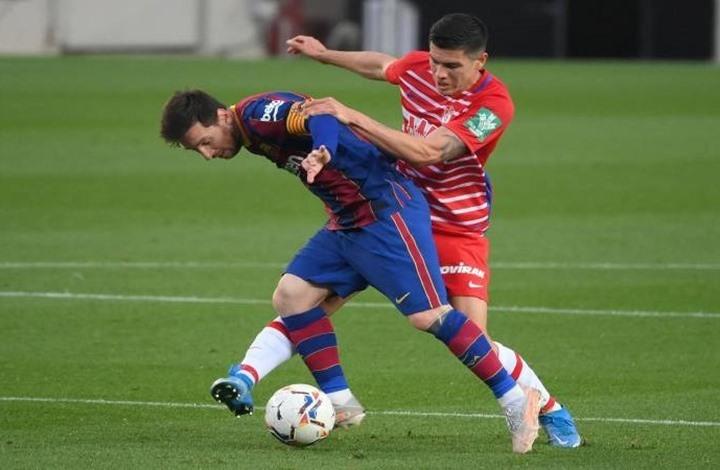 برشلونة يضيع فرصة اقتناص الصدارة ويسقط أمام غرناطة