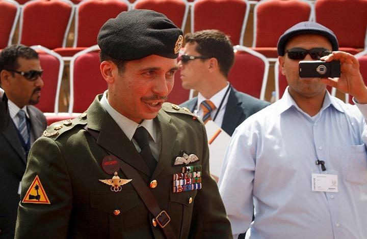 تداول تسجيل صوتي لحوار الأمير حمزة وقائد الجيش الأردني (استمع)