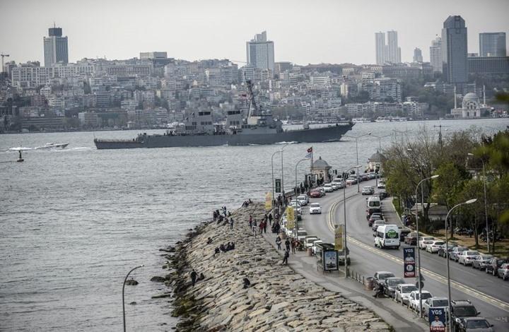 أمريكا تبلغ تركيا بمرور سفينتين حربيتين نحو البحر الأسود