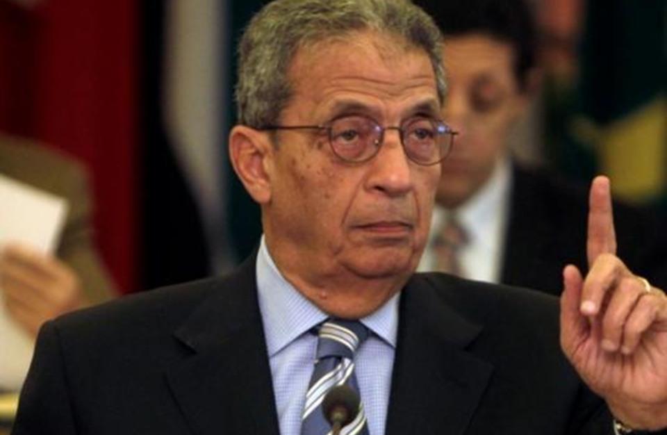 """عمرو موسى يعتزل الانتخابات.. ويهاجم """"العك"""" السياسي"""