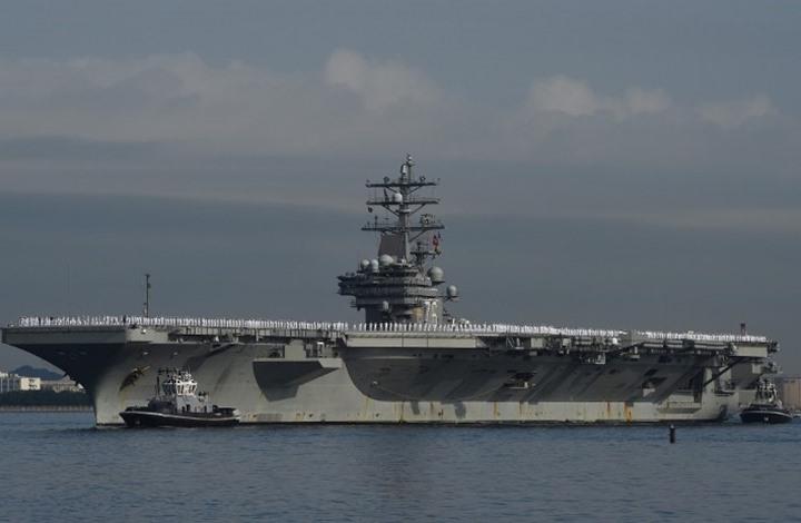 حاملة طائرات أمريكية جديدة تتوجه إلى شبه الجزيرة الكورية