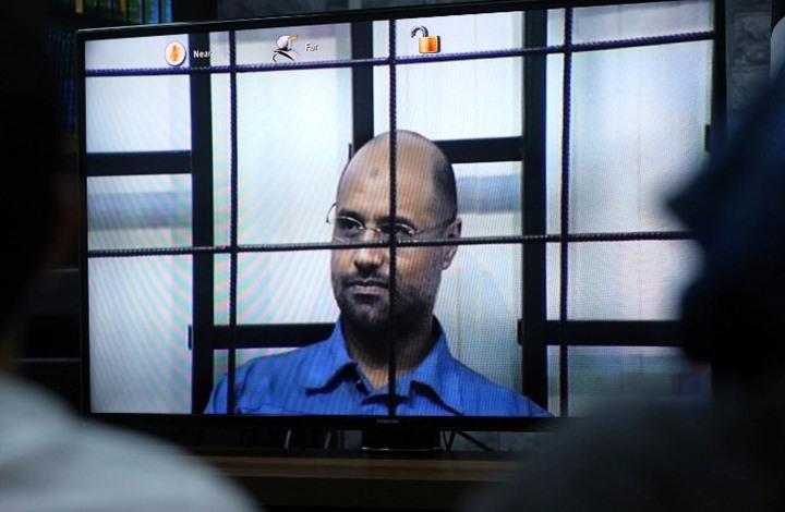 """""""الوفاق"""" تحسم قضية تسليم سيف القذافي للجنائية الدولية"""