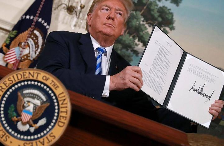 ترامب يفرض عقوبات مشددة على إيران تطال خامنئي