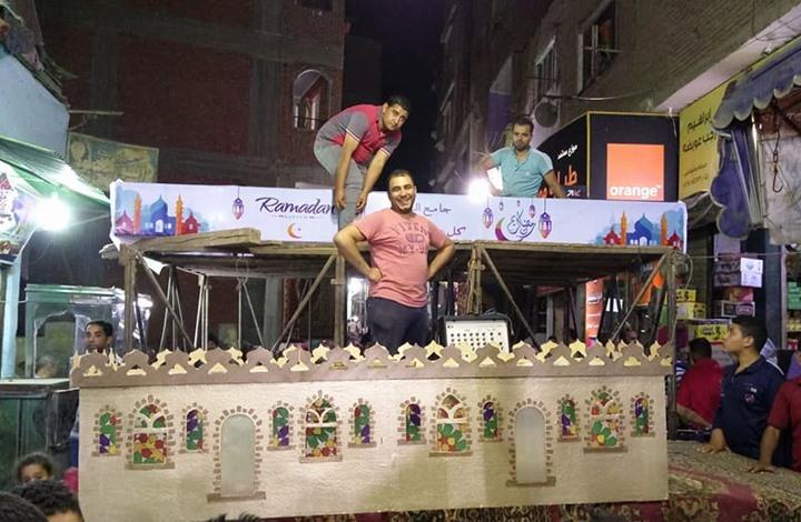 هكذا استقبل سكان البراجيل بمصر شهر رمضان (فيديو+صور)