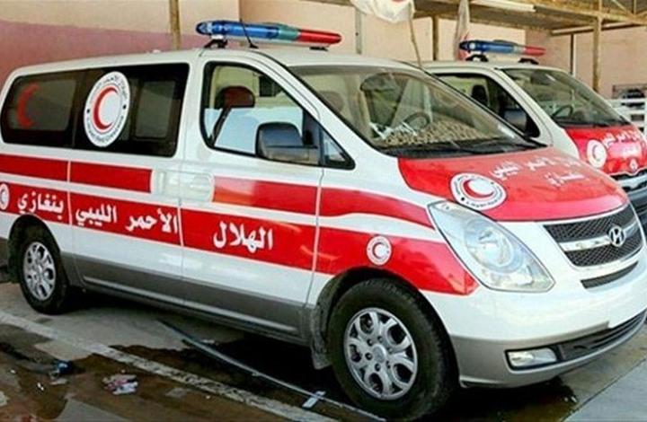 الهلال الأحمر الليبي يعثر على جثامين 116 مصريا في الصحراء