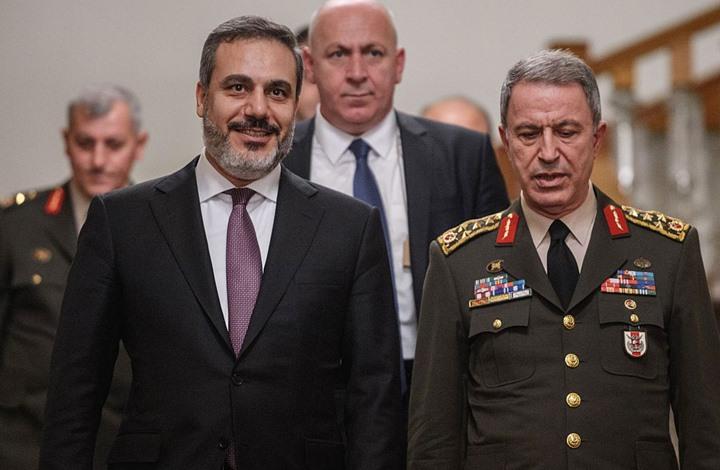 اجتماع عسكري استخباراتي تركي على الحدود مع سوريا