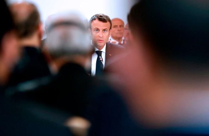 """""""رايتس ووتش"""" تطالب ماكرون بضمانات لحقوق الإنسان في ليبيا"""
