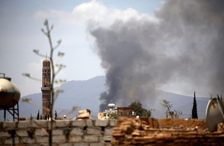 غارتان للتحالف العربي على محيط مطار صنعاء
