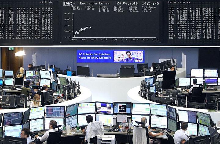 """قفزة قياسية لأسهم أوروبا بعد انتهاء ضبابية """"بريكست"""""""