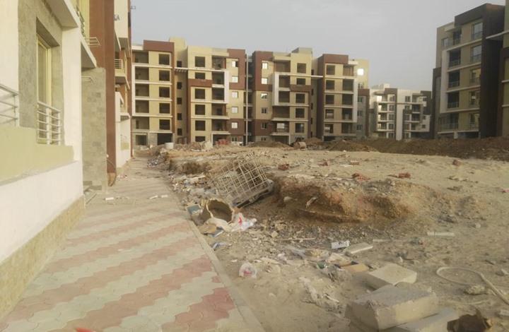مشروع سكني للجيش بمصر يكشف حجم الإهمال والتأخير ( صور)
