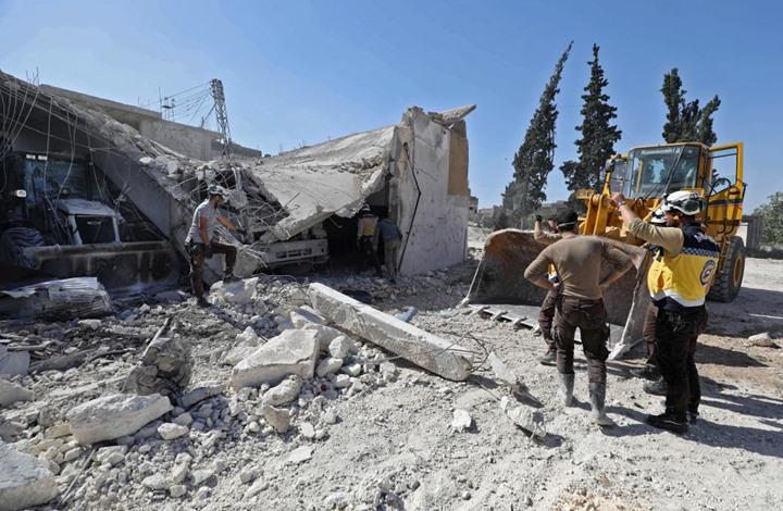 تحذيرات من كارثة إنسانية بسبب وقف أعمال إغاثة بإدلب