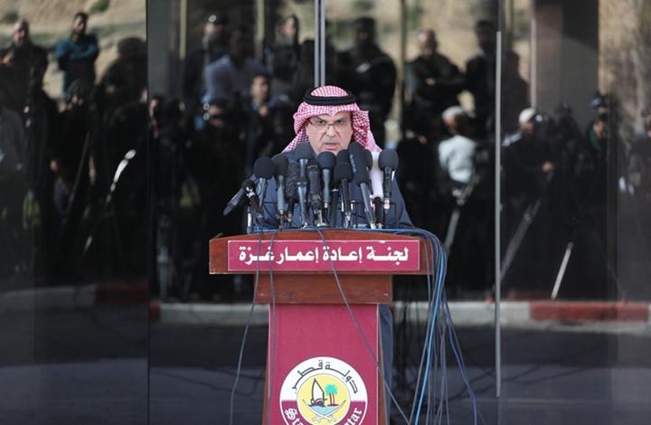 العمادي يعلق على التصعيد الأخير بغزة وتفاصيل منحة قطر