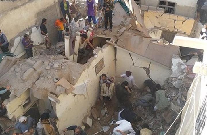 غارات مكثفة على صنعاء والحوثي تقول إنها قتلت مدنيين (شاهد)