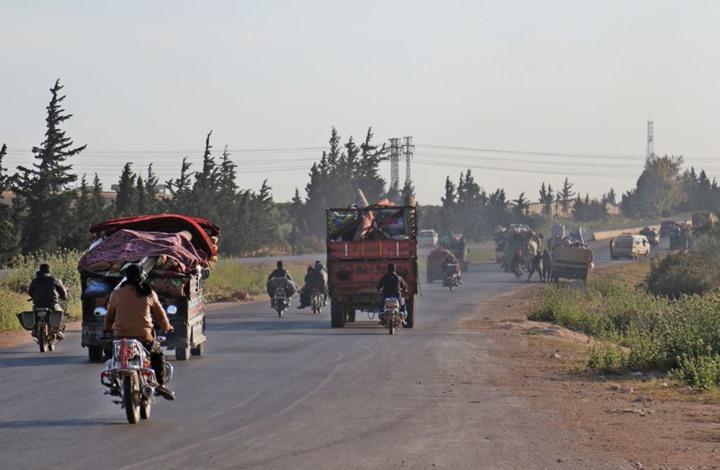 الأمم المتحدة: 210 آلاف سوري نزحوا خلال أيام بفعل القصف