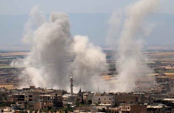 """تداعيات عودة """"التحالف الدولي"""" لقصف إدلب بعد توقف عامين"""
