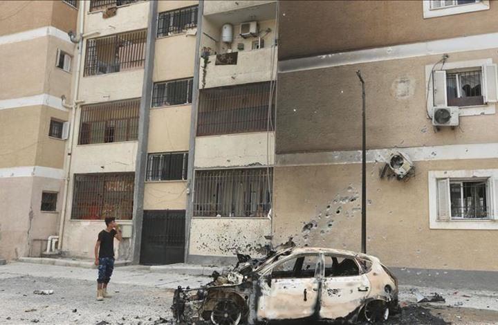 مقتل خمسة بقصف لحفتر على مناطق سكنية في طرابلس (شاهد)