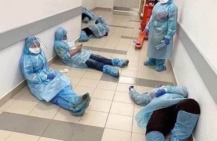"""الأطباء المصرية"""": نحارب بدون سلاح.. ووفياتنا 19"""