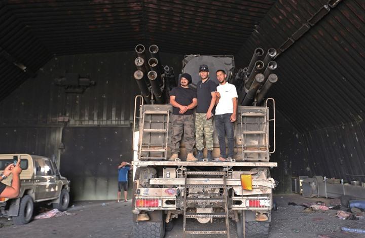 الجيش الليبي يوقف استهداف قوات حفتر المنسحبة مؤقتا