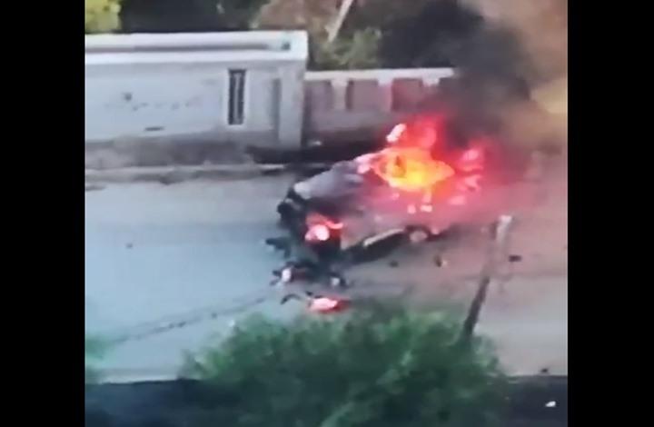 """جيش ليبيا يدمر مدرعة إماراتية ويبث لقطات لانسحاب """"فاغنر"""""""